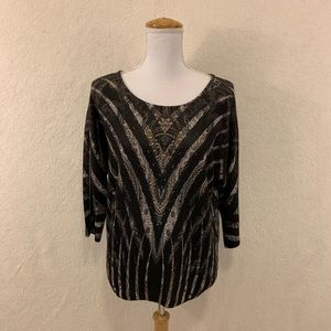 Chico's Women's Top Size 1 (Fits Size 8) NWT